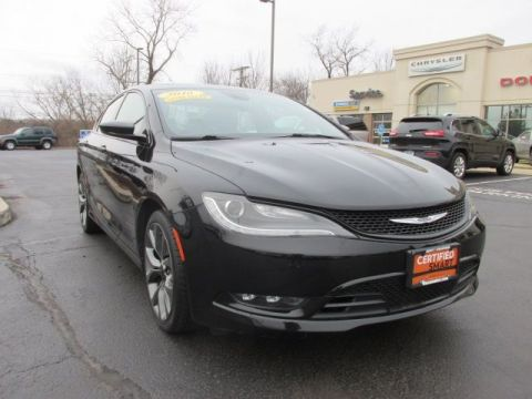 CERTIFIED 2016 CHRYSLER 200 S FWD 4D SEDAN