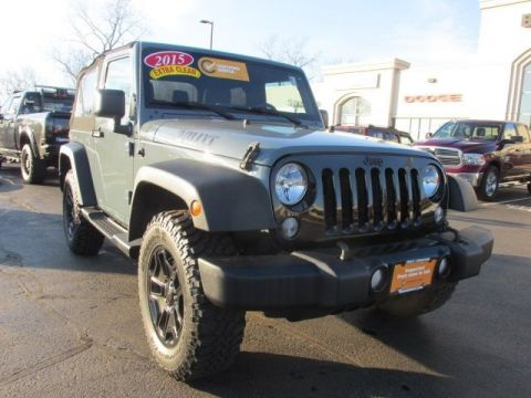 Certified Pre-Owned 2015 Jeep Wrangler