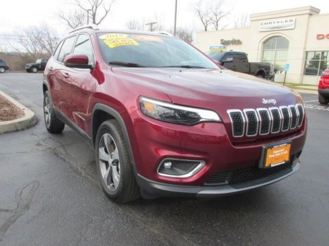 CERTIFIED 2019 JEEP CHEROKEE LIMITED 4WD
