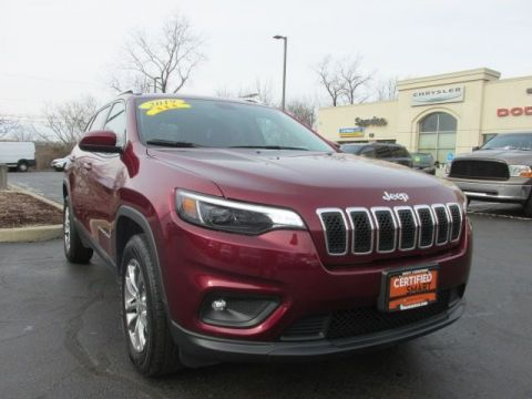 CERTIFIED 2019 JEEP CHEROKEE LATITUDE PLUS 4WD