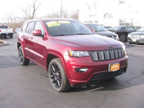 CERTIFIED 2018 JEEP GRAND CHEROKEE ALTITUDE 4WD