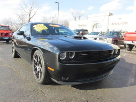 CERTIFIED 2017 DODGE CHALLENGER R/T RWD 2D COUPE