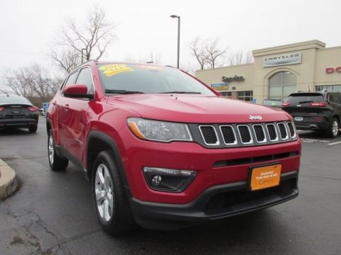 CERTIFIED 2018 JEEP COMPASS LATITUDE 4WD