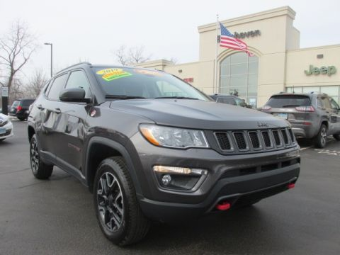 CERTIFIED 2019 JEEP COMPASS TRAILHAWK 4WD