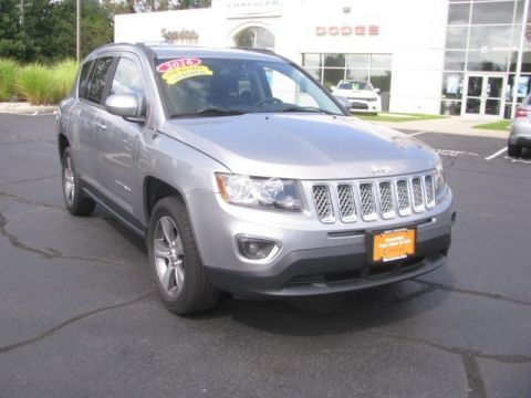 CERTIFIED 2016 JEEP COMPASS HIGH ALTITUDE 4WD