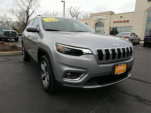 Certified Pre-Owned 2020 Jeep Cherokee Limited