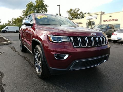 CERTIFIED 2019 JEEP GRAND CHEROKEE LIMITED WITH NAVIGATION & 4WD