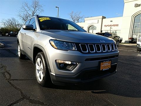 CERTIFIED 2019 JEEP COMPASS LATITUDE 4WD