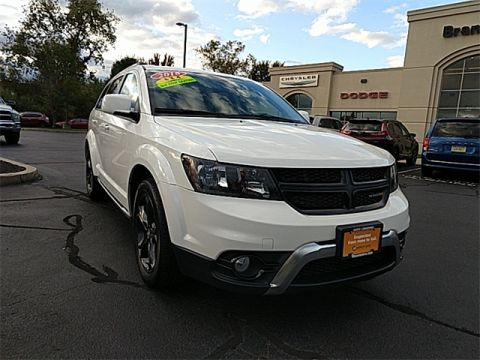 CERTIFIED 2018 DODGE JOURNEY CROSSROAD AWD